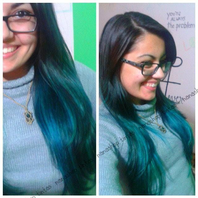 Atomic Turquoise Manic Panic Blue Hair Atomic Turquoise Manic