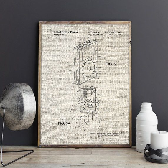 Mp3 player patent mp3 player poster ipod blueprint ipod wall mp3 player patent mp3 player poster ipod blueprint ipod wall decor ipod print technology wall art geek wall decor instant download ptp0377 the malvernweather Choice Image