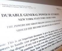 Durable Power Of Attorney Form  Power Of Attorney