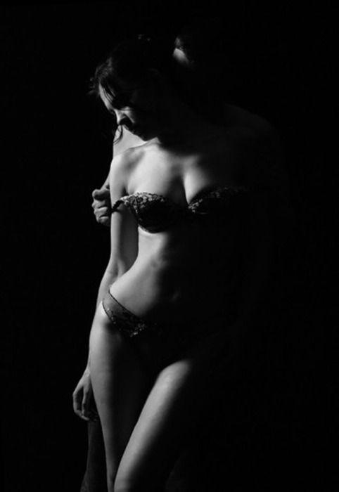 Hard core couples boudoir photography