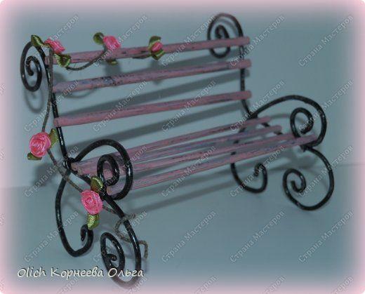 Скамейка для поделок своими руками