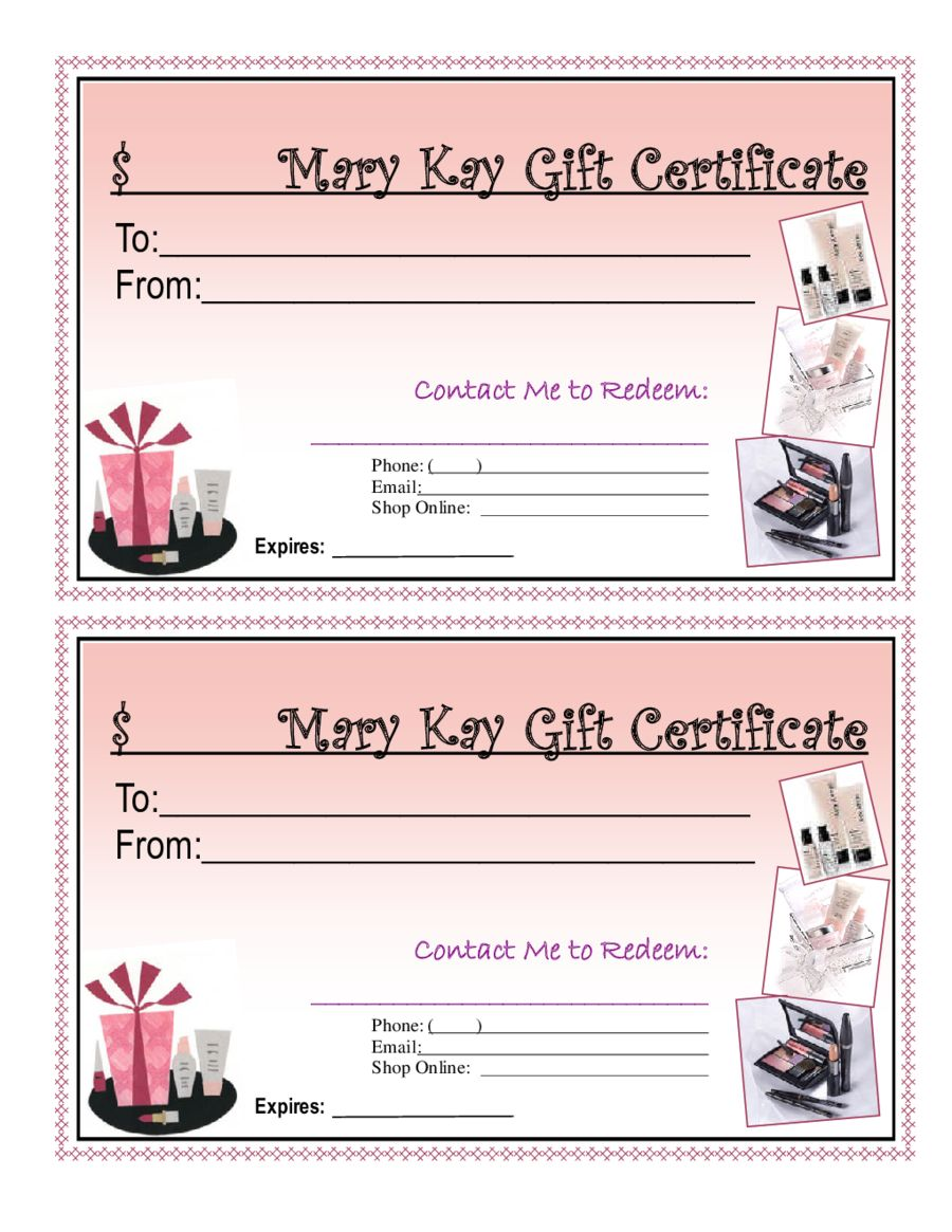 Blank Giftcertificates Edit Fill Sign Online Handypdf Intended For Mary Kay Mary Kay Gifts Mary Kay Gift Certificates Mary Kay Gift Certificate Template