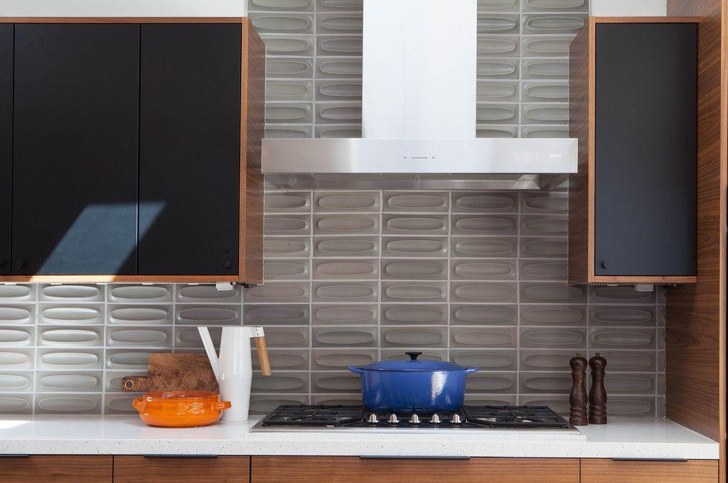 Heath Ceramics Dimensional tile creates subtle pattern