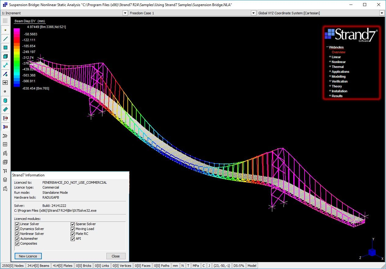 Download Strand7 R2 4 6 Webnotes Full License 100 Working Forever In 2021 Windows Programs Library Materials Contour Map