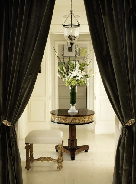 Curtains Ideas black velour curtains : 17 Best images about Velvet on Pinterest | Grey curtains, L'wren ...
