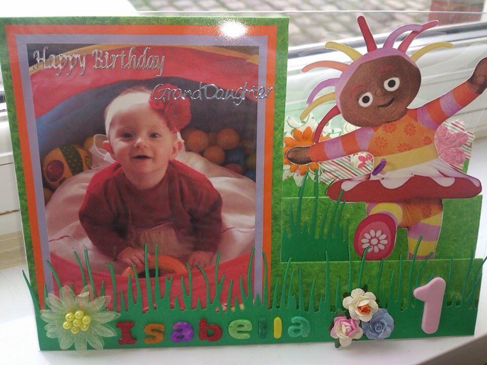 Homemade Upsy Daisy In The Night Garden Birthday Card Garden Birthday Birthday Cards Cards