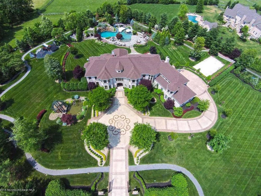 4 1 Million Brick Mansion In Colts Neck Nj Mansions Expensive Houses Celebrity Houses