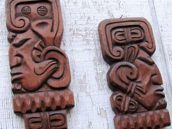 Vintage Tiki Wall Decor Oversized Hand by MarthasVintageBazaar ...
