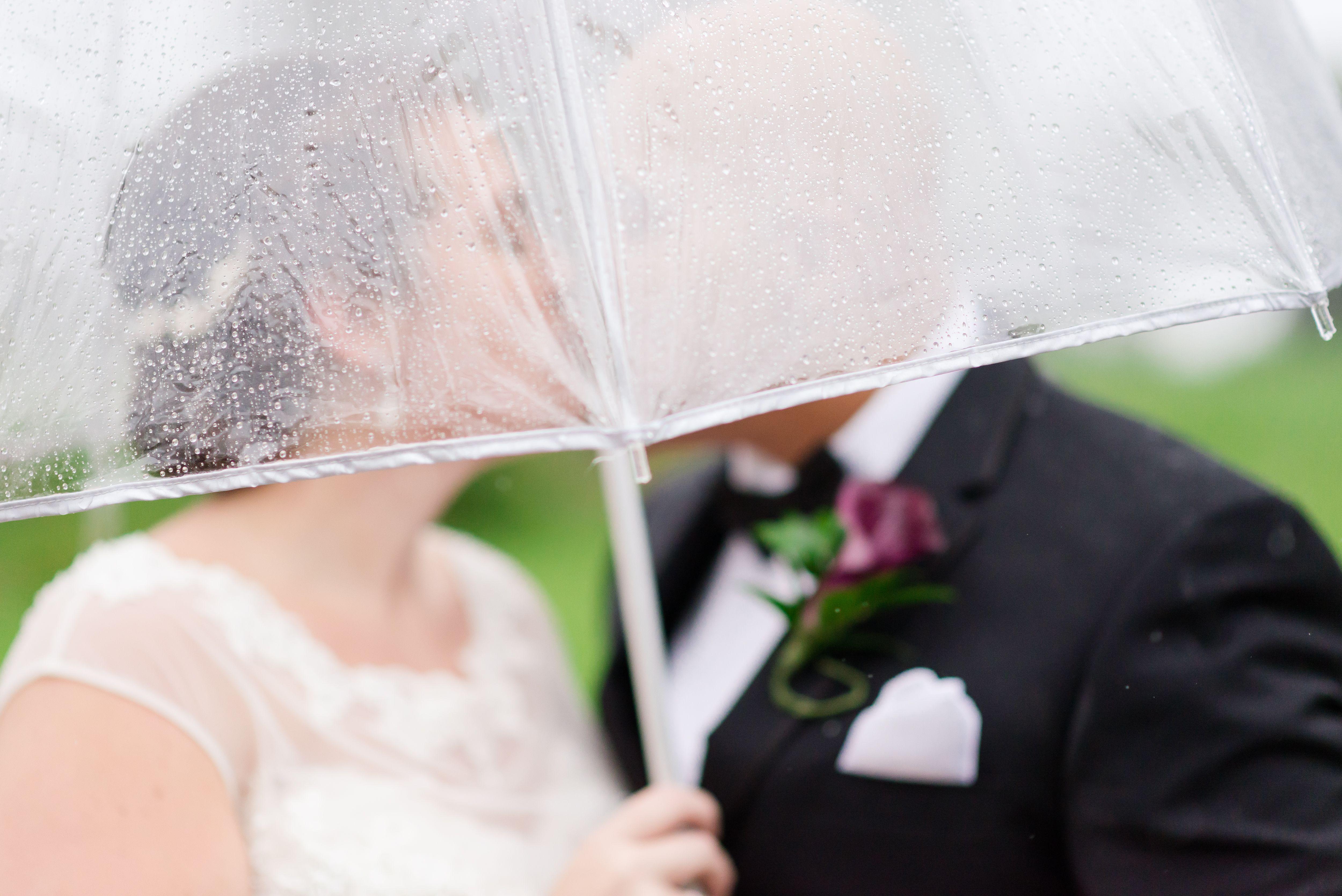 Bright ideas for a rainy day wedding