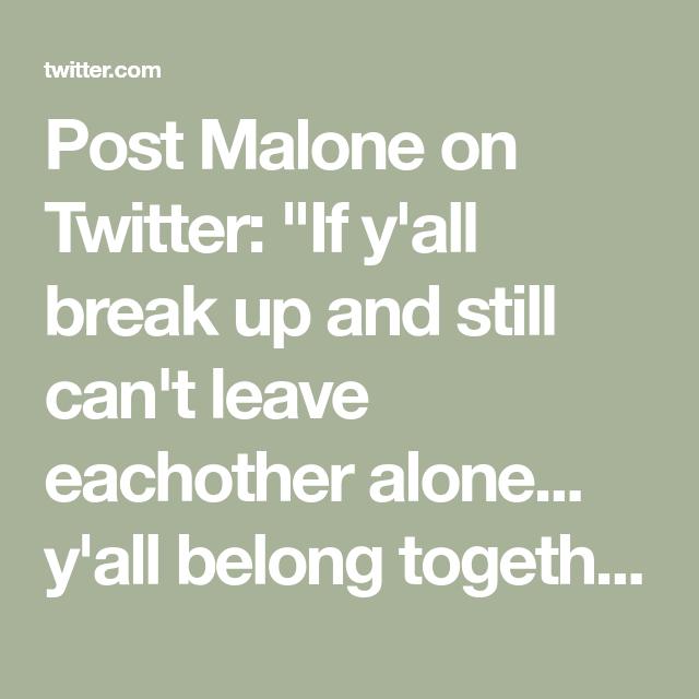Post Malone Sad Quotes: Post Malone On