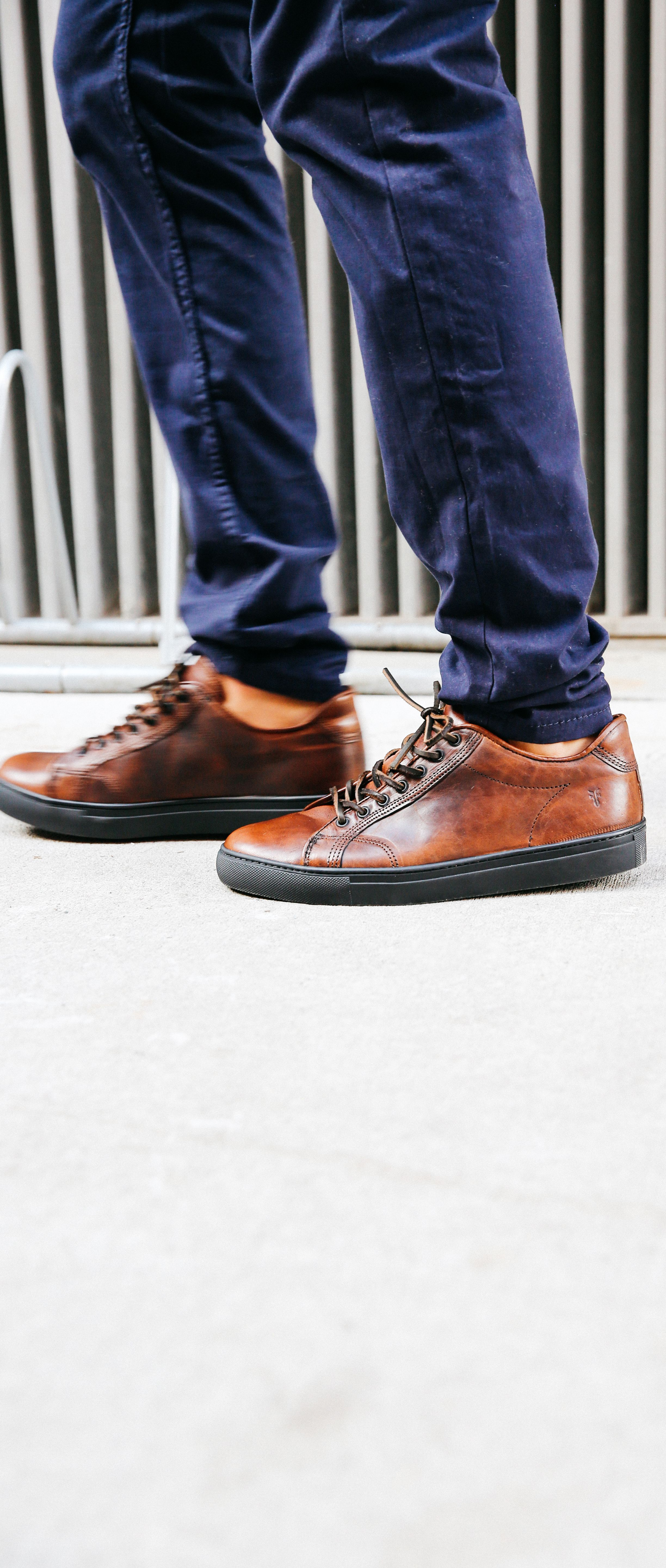 Walker Low Lace   Raw leather, Leather