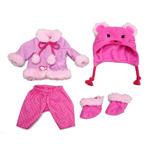 Baby Alive e Size Fits All Outfit Bear Coat