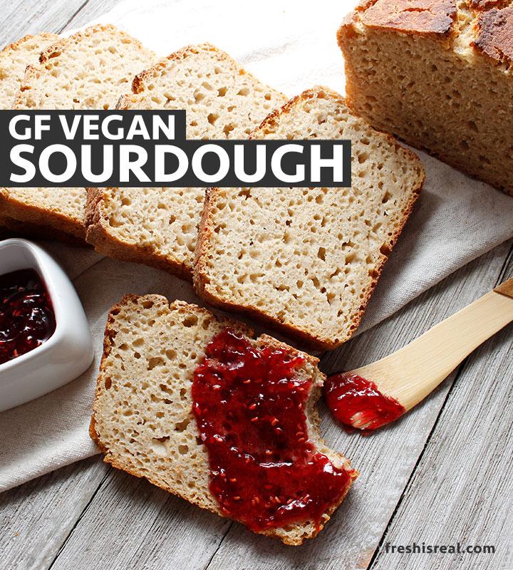 Gluten Free Sourdough Without Psyllium Recipe By Fresh Is Real Recipe In 2020 Gluten Free Sourdough Sourdough Bread Gluten Free Sourdough Bread