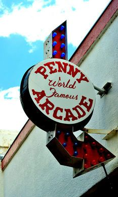 Manitou Springs Penny Arcade #manitousprings