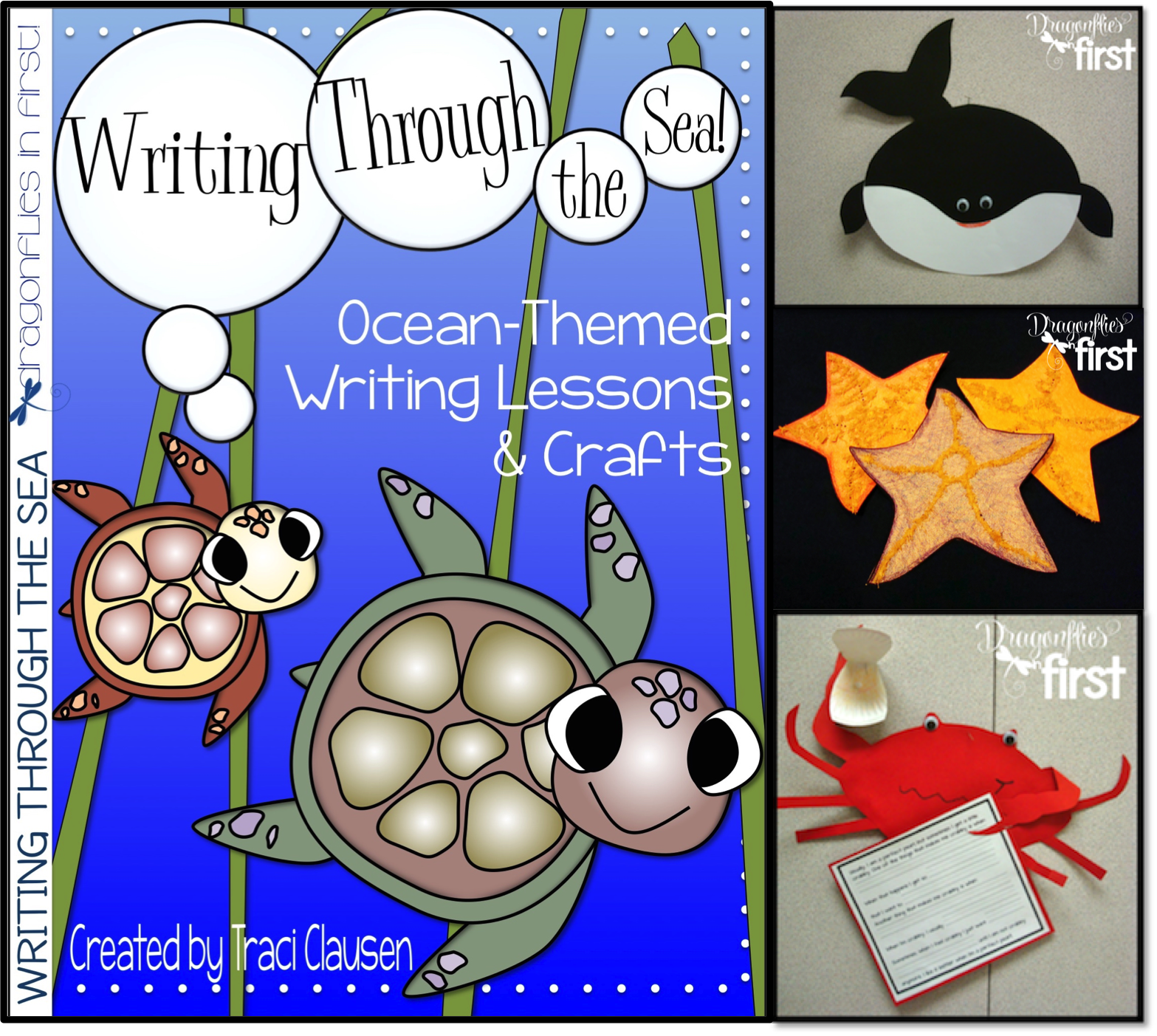 Ocean Writing Activities And Crafts For The Primary Grades