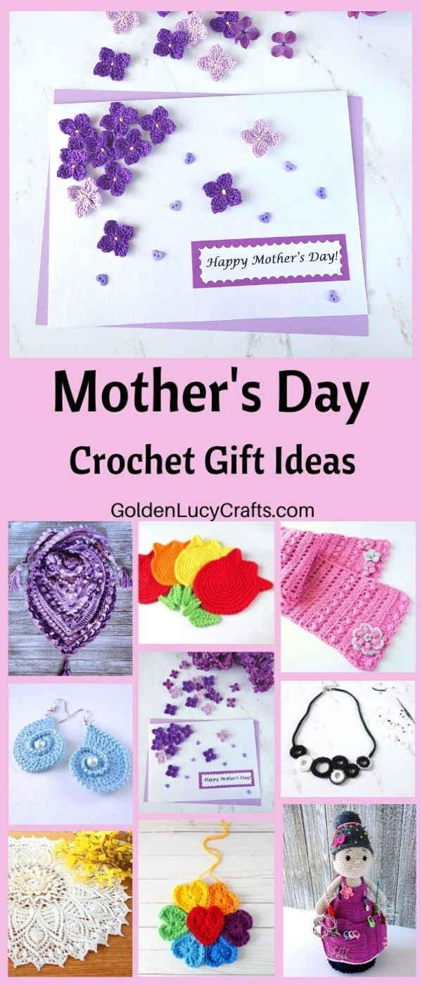 Crochet Gift Ideas for Mother's Day