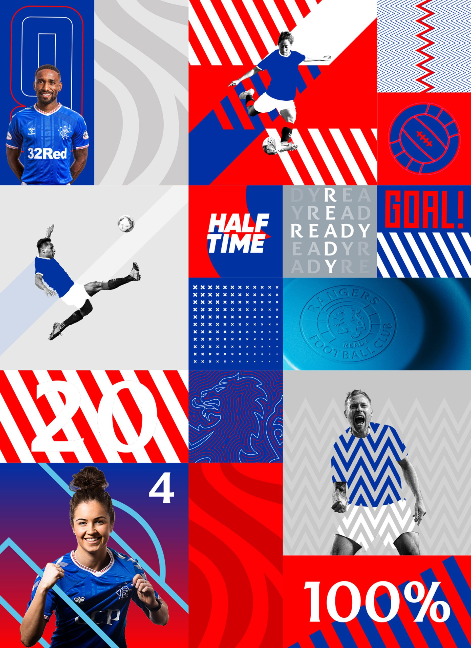 Brand New: New Logo and Identity for Rangers Football Club by See Saw Creative
