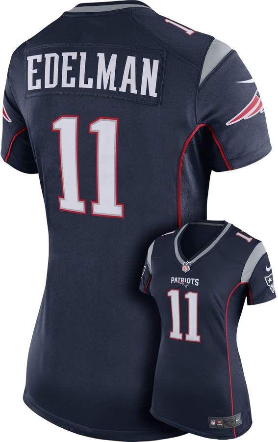 best loved a70d4 cd405 Women's Nike New England Patriots Julian Edelman NFL Jersey ...