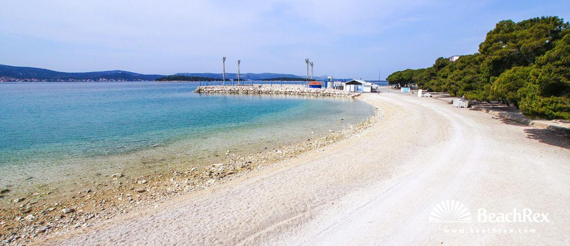Beach Drazica Biograd Na Moru Dalmatia Zadar Croatia Beach Croatia Zadar
