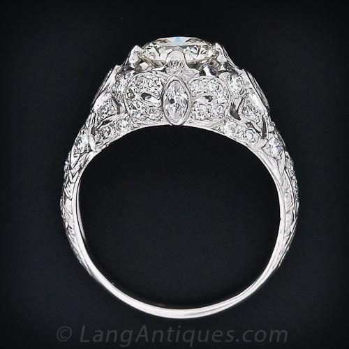 Edwardian ring white