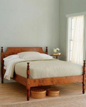 Garnet Hill Tulip Old Fashioned Bed Frame Modern Beds Garnet