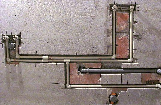 Картинки по запросу Монтаж водопровода из полипропиленовых труб