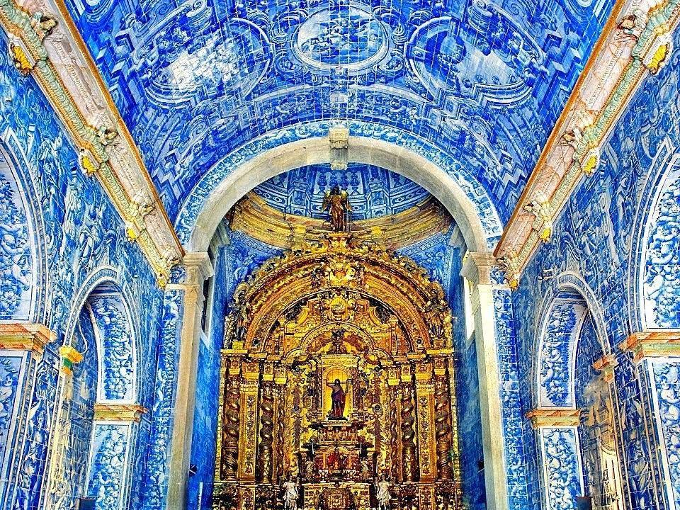 Resultado de imaxes para horror vacui azulejos portugueses