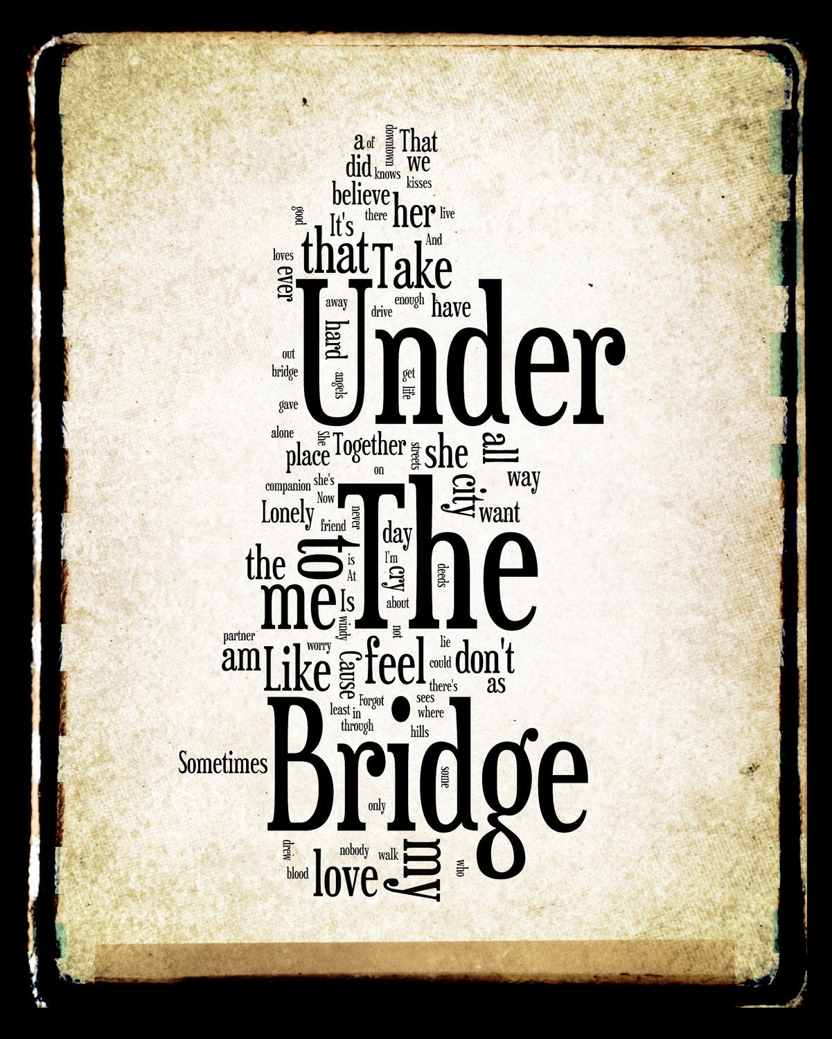Under The Bridge by Red Hot Chili Peppers
