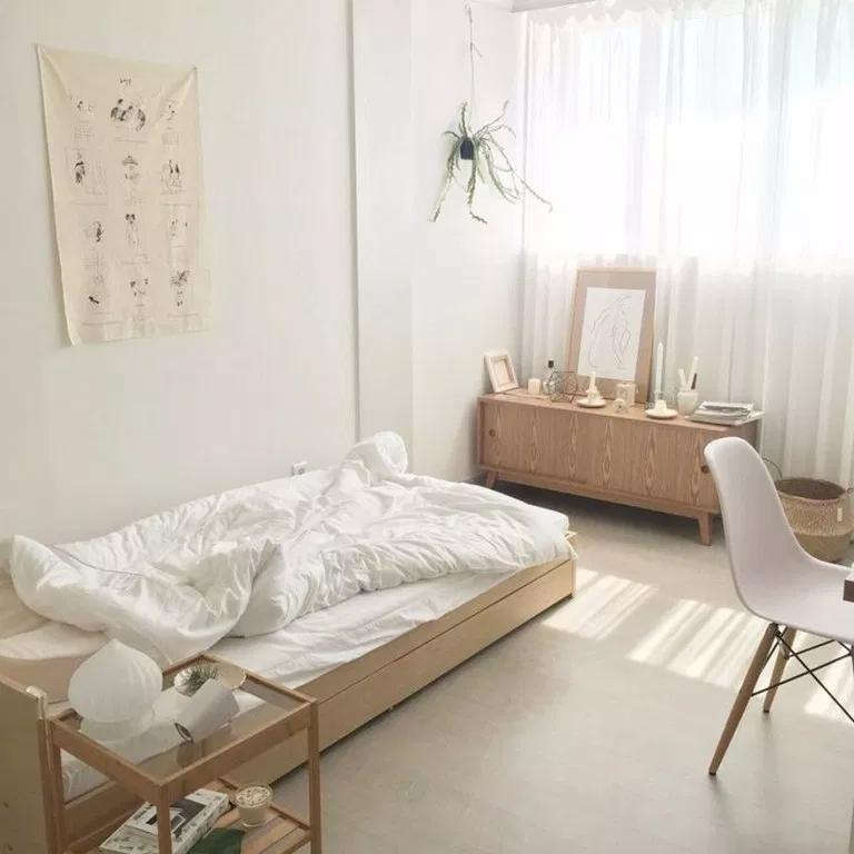 Minimalist Small Aesthetic Bedroom Novocom Top