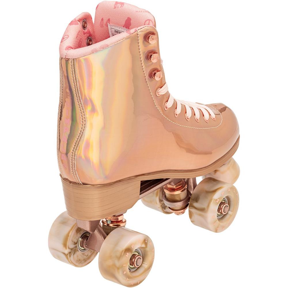 Impala Quad Skate Marawa Rose Gold Roller Skate Shoes Roller Skates Quad Skates