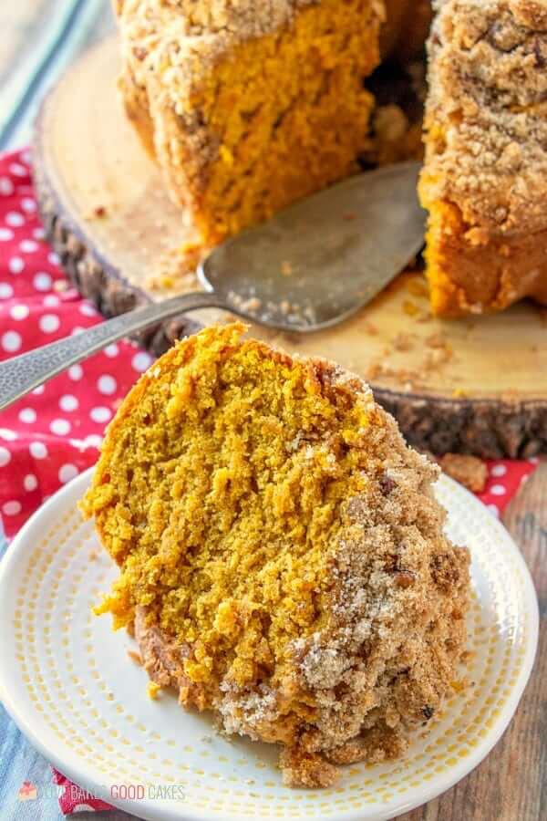Pumpkin Streusel Coffee Cake | Recipe | Pumpkin spice ...