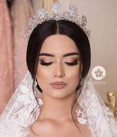 elegantes Braut Make-up # Hochzeitsdekoration # Braut #elegant # Hochzeitsdekor