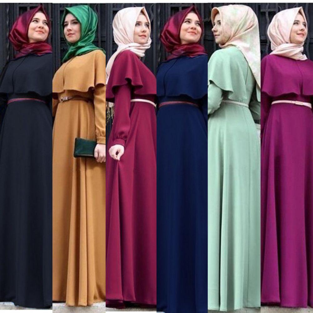 New Personality Cape-style abaya turkish women clothing muslim