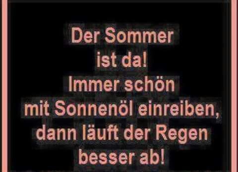 Der Sommer ist da!!!!