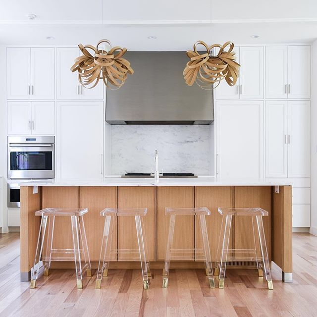 lucite counter stools  kitchen designgreenwell homes