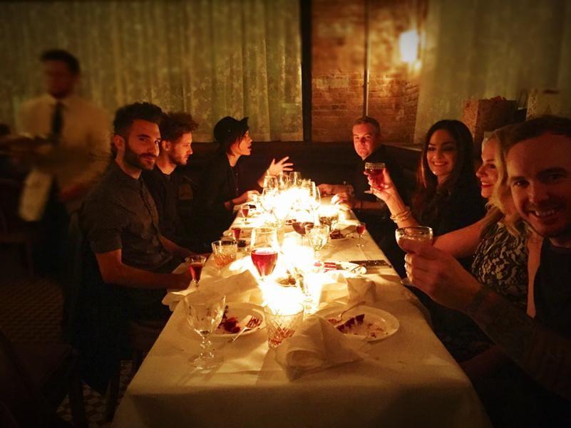 Twitter: Birthday dinner, Chicago.