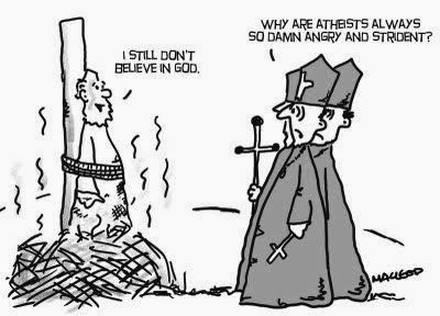 Image result for anti christian cartoons