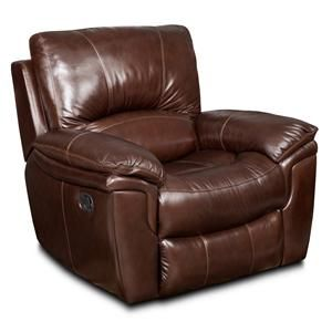 Ss614 Casual Leather Glider Recliner By Seven Seas Seating By Bradington Young At Ahfa Furniture Gliders Glider Recliner Recliner