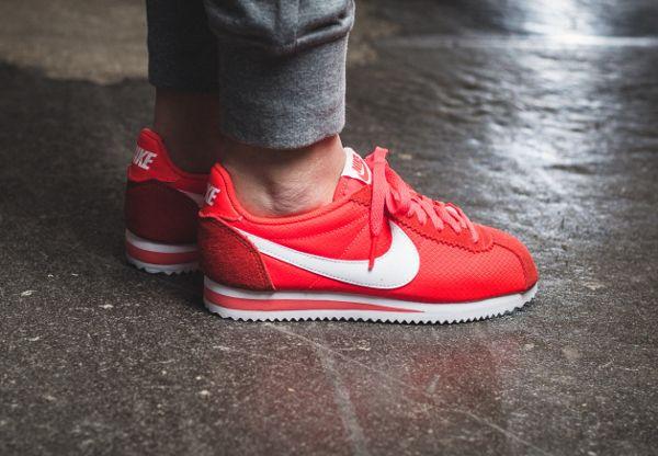 Nike Classic Cortez 15 Nylon - Bright Crimson