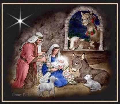 Vendredi 5 décembre 2014   Crèche de Noël. | Creche de noel, Art
