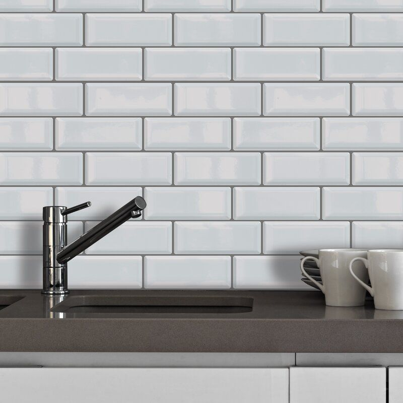 15 Cm X 30 Cm Gel Peel Stick Mosaic Tile In 2020 Gel Peels Peel N Stick Backsplash Mosaic Tiles