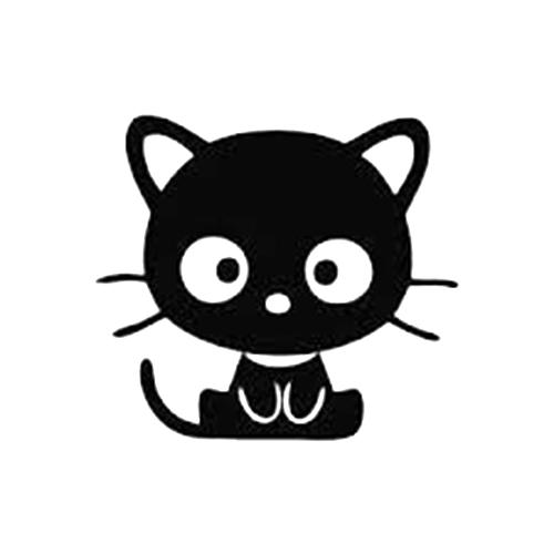 Kitty JDM Die Cut Vinyl Decal PV For Windows Vehicle Windows - Vinyl decal cat pinterest