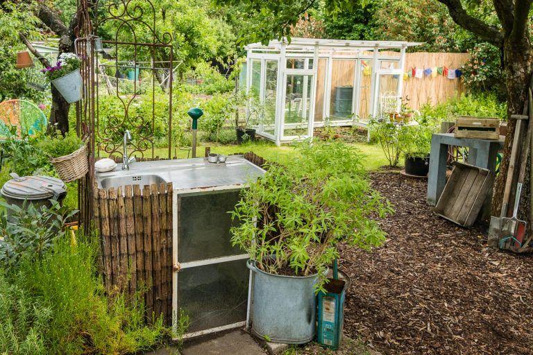 Wie bekommt mein Garten Struktur Gartenräume schaffen