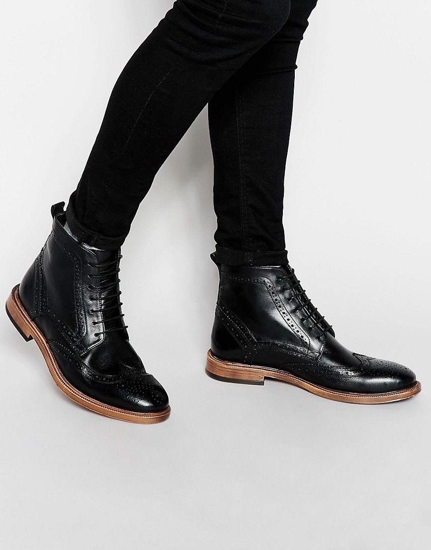 Zapatos negros Kurt Geiger KG By Kurt Geiger para hombre wJ7vh