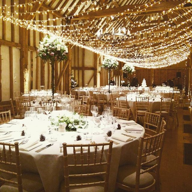 Venue Decorations: Beautiful Wedding At @micklefieldhall Last Night. The