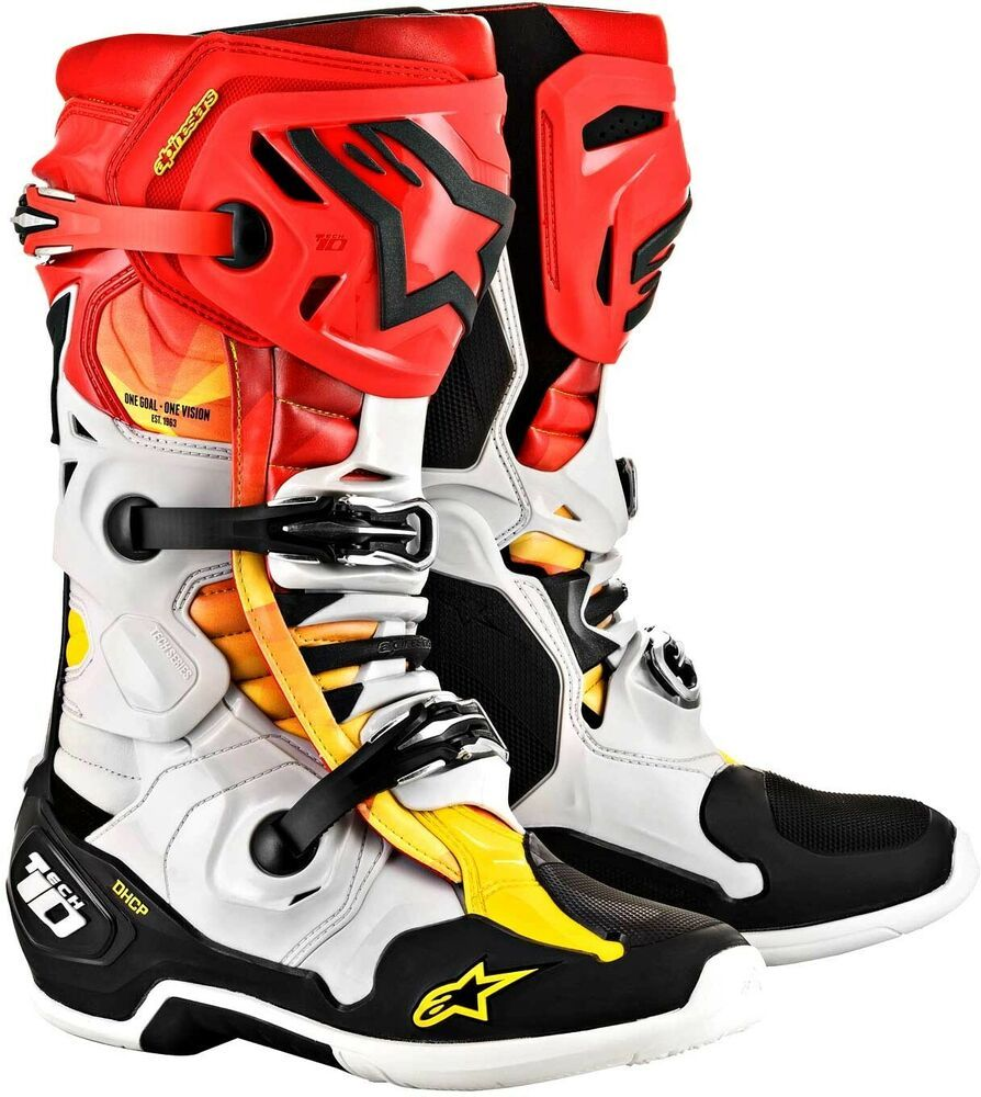 Alpinestars Tech 10 LE Indianapolis Boots Motocross
