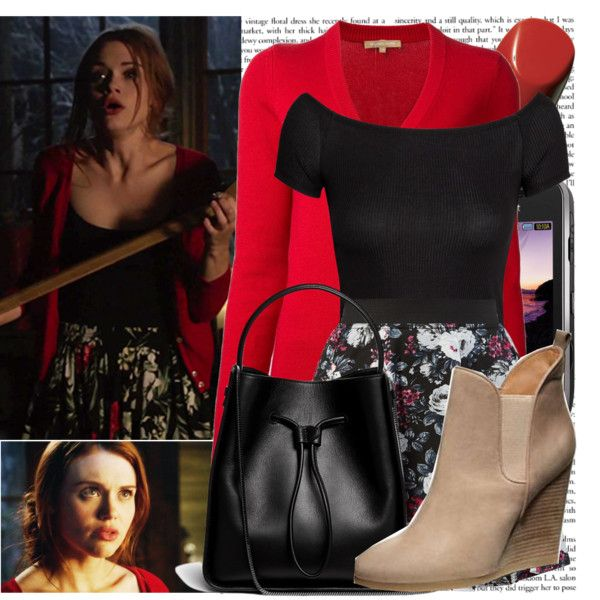 Lydia Martin-Time of death by elenadobrev90 on Polyvore featuring mode, Michael Kors, H&M, 3.1 Phillip Lim, Chanel and Samsung