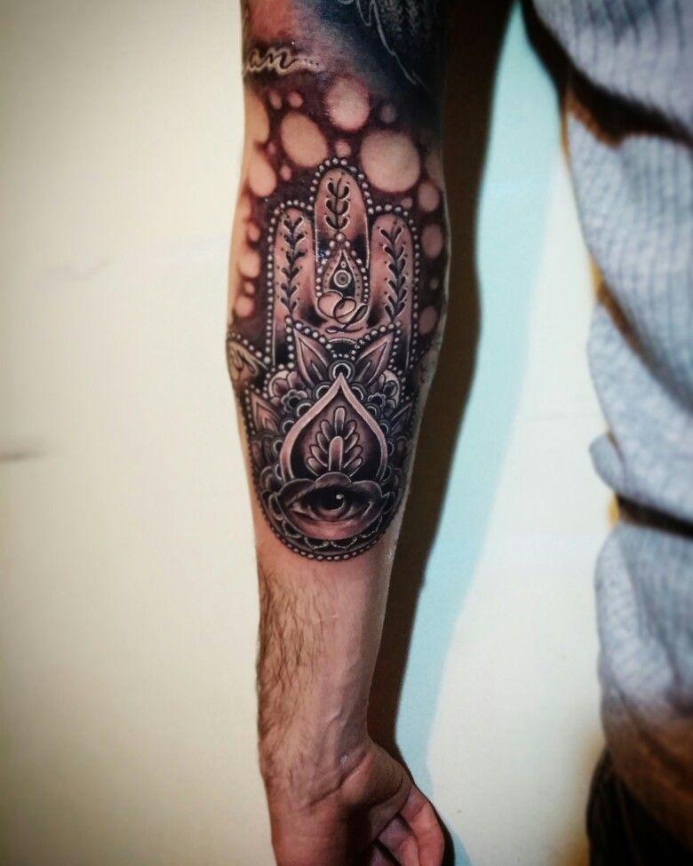 Männer fatima hand tattoo Tattoo Hand