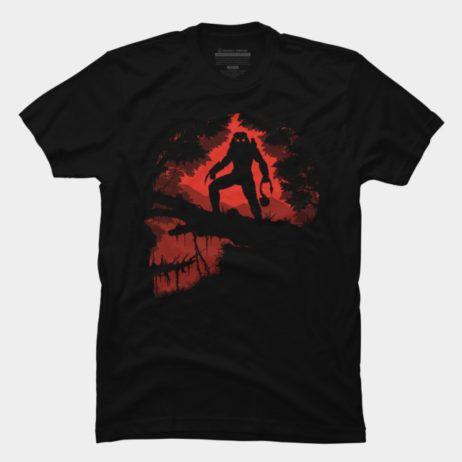 #Predator t-shirt.