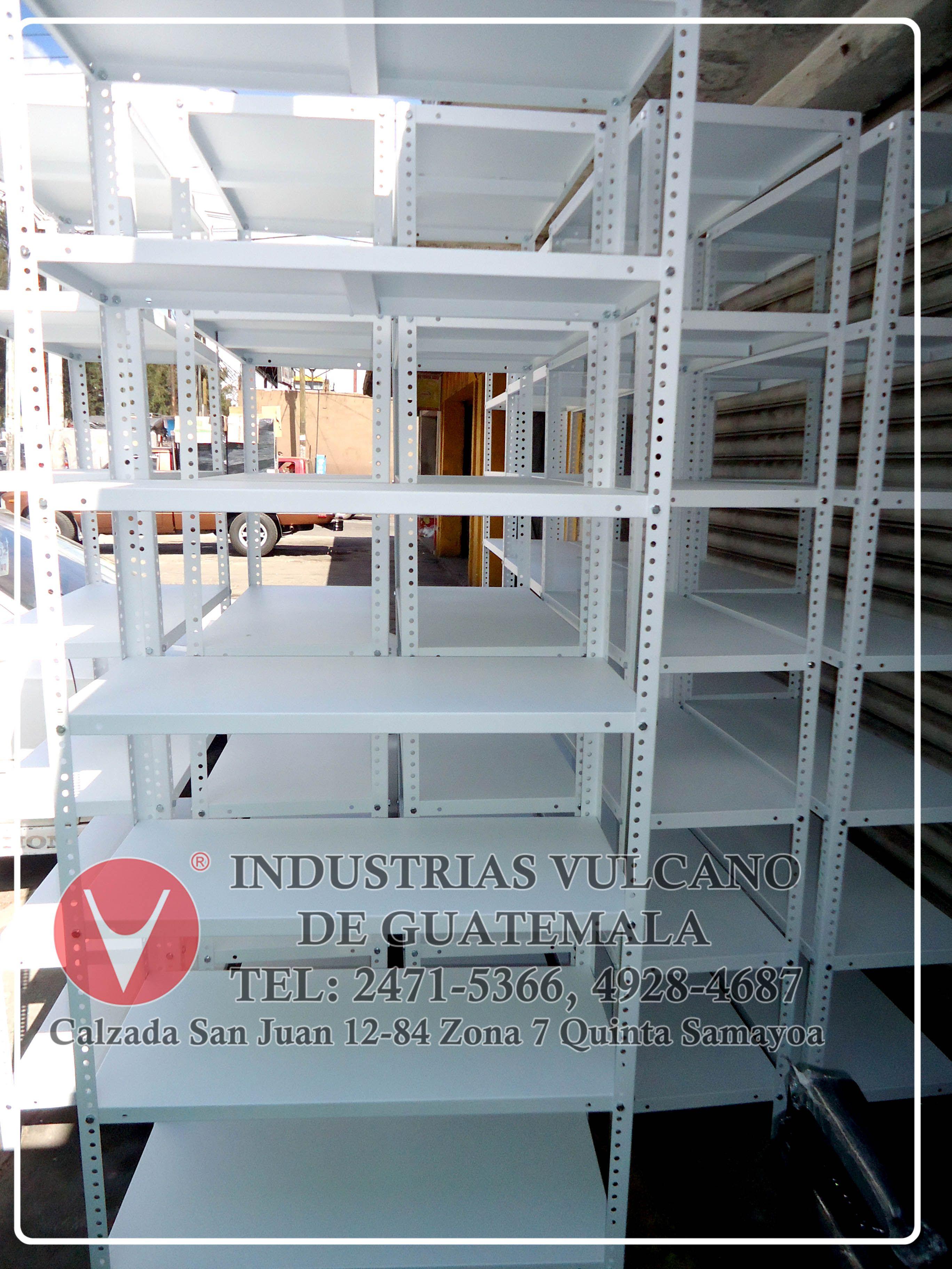 Estanterias Metalicas Oficina.Estanterias Metalicas Semi Industriales Para Uso Pesado En